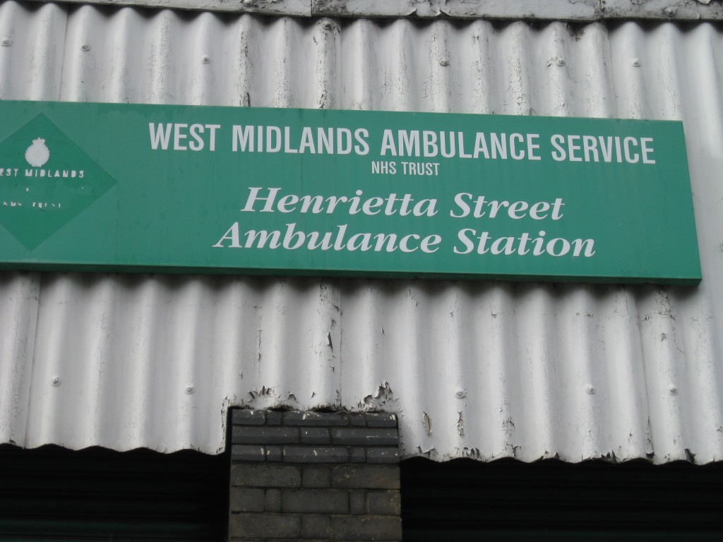 Henrietta Street Ambulance Station