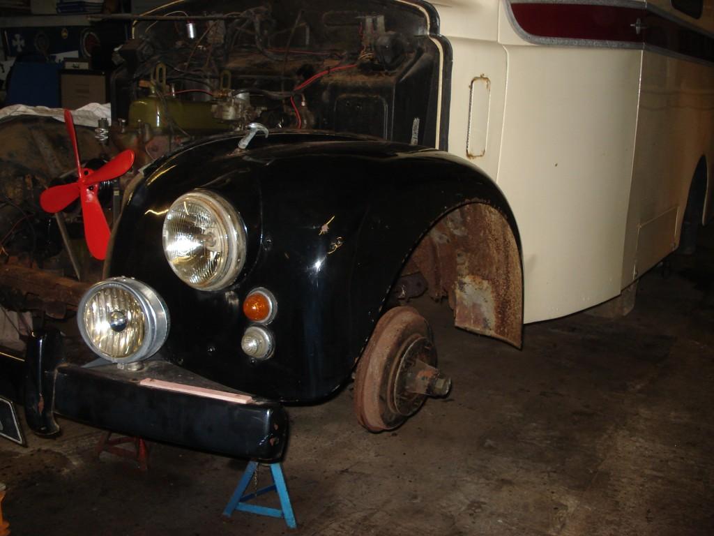 Morris Lc5 Restoration Ambulance Heritage Society